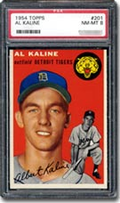 1954 Topps Al Kaline PSA Graded NM-MT 8.