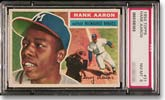 1956 Topps Aaron (PSA Graded NM-MT 8)