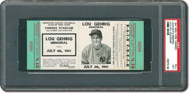 1941 Gehrig Memorial Day