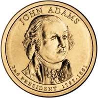 John Adams Presidential Dollar