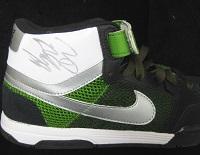 Justin Bieber Signed Nike Shoe