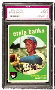 "Chicago fans really loved the popular Ernie Banks a.k.a. ""Mr. Cub."""