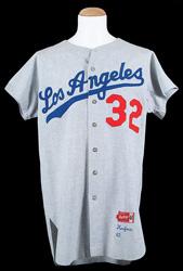 1963 Sandy Koufax Dodgers Jersey