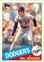 Fan favorite Orel Hershiser is<br> heading back to the Dodgers.