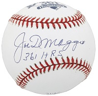 Joe DiMaggio Signed Baseball