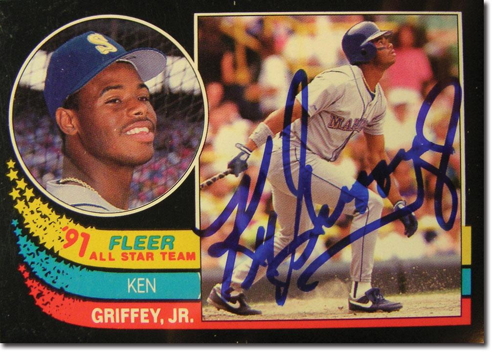 Collecting Ken Griffey Jr Baseball Cards Memorabilia