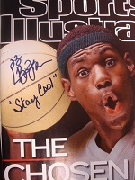 LeBron James Signed Sports Illustrated Cover