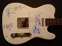 Rolling Stones Signed Guitar
