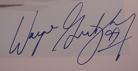 Wayne Gretzky Signed Photo (Closeup)