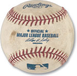 The infamous ''Bartman'' Chicago Cubs foul ball