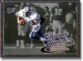 1999 Fleer Ultra Charlie Batch card.