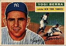 The 1956 Yogi Berra Topps card.
