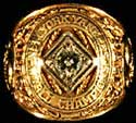 Yankee pitcher Bob Grim's<br>World Series Ring realized<br>$10,350 in Superior Sports'<br>spring auction.