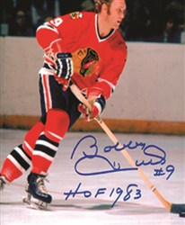 Bobby Hull Signed Photo