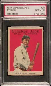 1914 Cracker Jack Ty Cobb