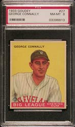 1933 Goudy George Connally #27 PSA NM-MT 8