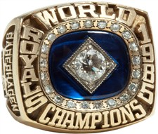 Bret Saberhagen's 1985 Kansas City Royals World Series Championship Ring - Sold for: $73,409