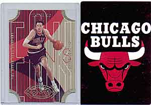 Seeing red:  Bulls memorabilia (above and below)<br>has lost value as team's fortunes decline