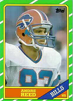 1986 Topps Andre Reed Rookie (#386)