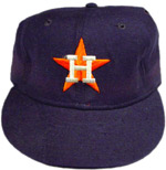 This Nolan Ryan Houston Astros game worn cap is worth around $1,500.