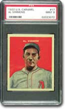 Al Simmons - PSA Graded Mint 9.