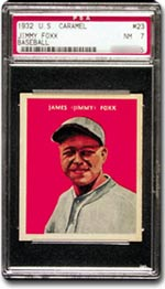 Jimmy Foxx - PSA Graded NM 7.