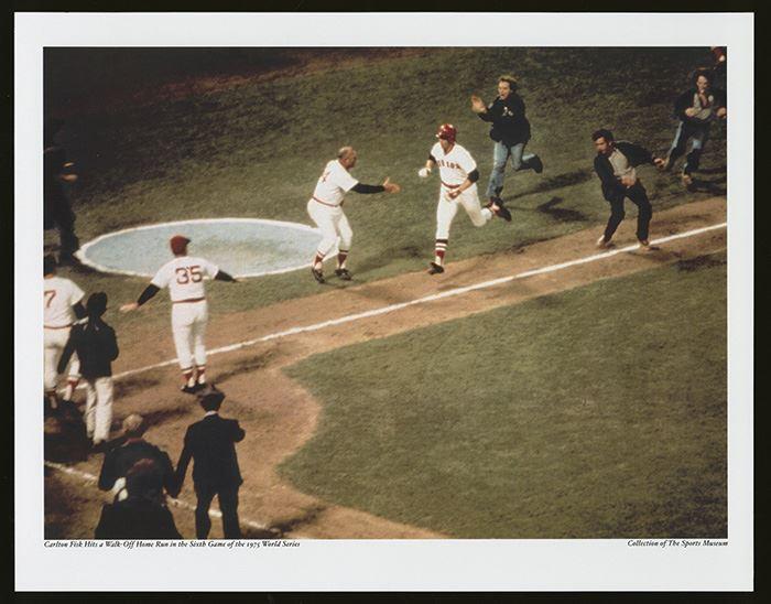 Carlton Fisk S Iconic 1975 World Series Game 6 Home Run