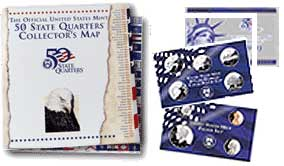 1999 US Mint Proof Sets and Official Mint 50 State Quarters Collector's Map are available online.