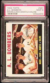1964 Topps A.L. Bombers