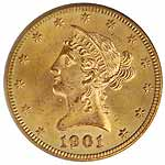 Prior to 1933, gold coins primarily circulated rather than paper money.