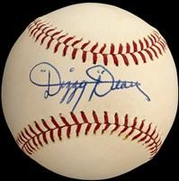 Dizzy Dean Signed Baseball