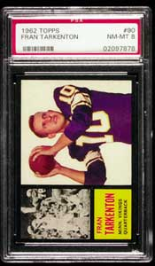 Frank Tarkenton Rookie PSA NM-MT 8