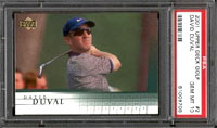 One of the many other top golfers on the course today is David Duval, whose Rookie Card can also be found in SP.