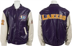 Elgin Baylor 50 Greatest Players Jacket