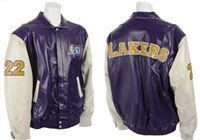 Elgin Baylor 50 Greatest Players jacket