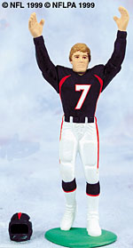 A John Elway Starting Lineup Figure.