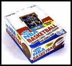 1986 Fleer Basketball Wax Box