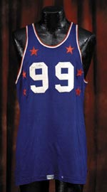 George Mikan's signed 1952 All-Star Game jersey sold for $46,302.