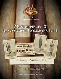 Goodwin & Co. Presents Masterpieces & Uncommon Commons LIII