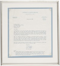 Guthridge Letter Framed