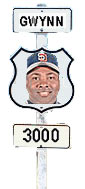 Tony Gwynn joined <br>the 3000-hit-club <br>last week.