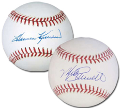 Harmon Killebrew and Mike Schmidt Autographed Baseballs