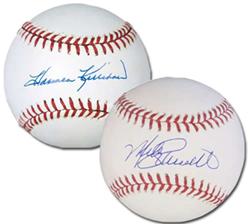 Harmon Killebrew and Mike Schmidt Autographed Baseballs