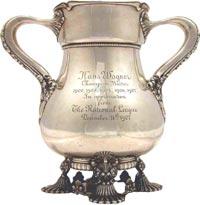 Honus Wagner's 1907 Tiffany Loving Cup