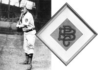 Honus Wagner's 1909 Uniform Swatch