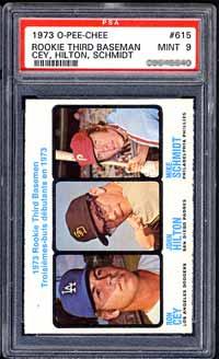 1973 O-Pee-Chee Rookie Third Baseman
