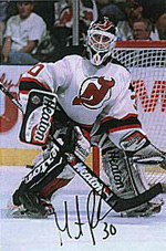 Martin Brodeur autograph obtained by mail.