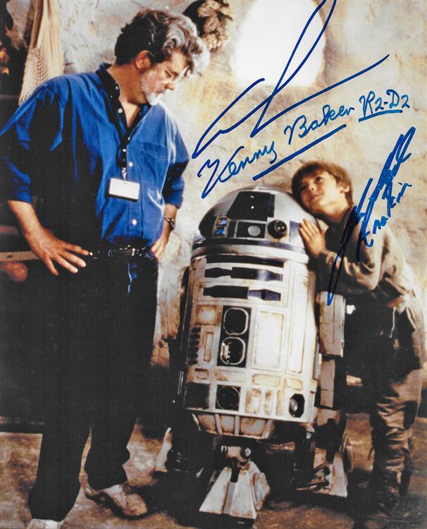 Image result for star wars autographs memorabilia