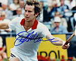 A John McEnroe signed photo.