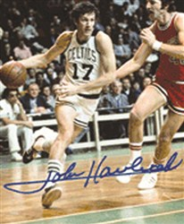 John Havlicek Signed Photo